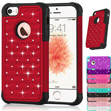 Hybrid Shockproof Rugged Rubber Hard Case Cover for Apple iPhone 6s Plus SE