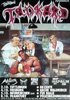 TANKARD  1991  TOUR  --  orig.Concert Poster  --  Konzert Plakat   A1  TOP