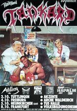TANKARD    1991    TOURNEE    orig.Concert Poster  --  Konzert Plakat  A1