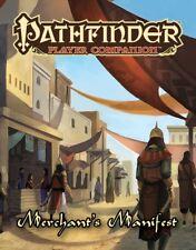 Pathfinder RPG: PRESALE Merchant's Manifest New