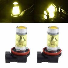 1Pair 100W High Power H11/H8 20 LED Fog Light 3030 Yellow Driving Bulb 9-30V new