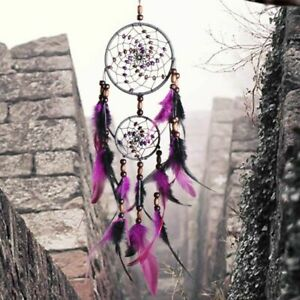 Extra Large Dream Catcher Wall Hanging Big For Kids For Living Room Purple