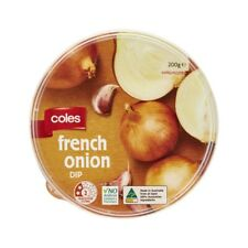 Coles French Onion Dip 200g