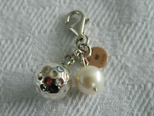 Clogau Sterling Silver & Welsh Gold Ryder Cup Charm RRP £159.00