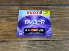 Maxell DVD+R Data & Video 5 Pack