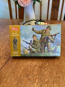 Airfix Vintage British Commandos 1:32 in Mint Box!