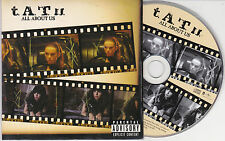 CD CARDSLEEVE TATU (T.A.T.U) ALL ABOUT US 2T DE 2005 TBE