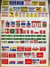 1/18 diorama garage Signs Combi  (sheet 0120)
