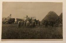 Real Photo Postcard of an Old Farm Scene