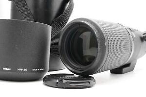 [ Quasi Mint] Nikon Af Micro Nikkor 200mm F/4d Ed Se Macro Lente W/Cappuccio