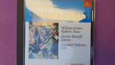 JOHANNES BRAHMS - CHAMBER WORKS FOR PIANO CLARINET CELLO. CD ERMITAGE
