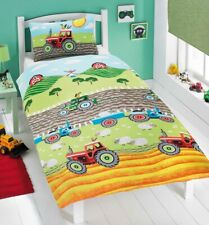 "Rapport Kids Children's ""Tractor"" Animals, Farm  Duvet Cover Bedding Set Multi"
