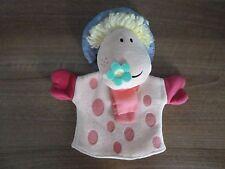 MARIONNETTE-MAGIC ROUNDABOUT ERMINTRUDE marionnette à main-vintage Rare-super cadeau!