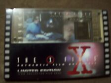 THE X-FILES AUTHENTIC FILM ORIGINALS LIMITED EDITION 35MM FILM CELLS DANA SCULLY