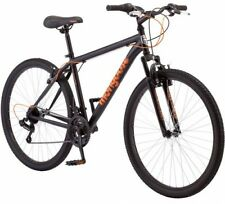 27.5 Mongoose Excursion Men's Mountain Bike, Black/Orange
