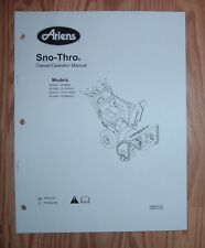ARIENS 921003 - ST1130DLE, 921004 - ST924DLE SNO - THRO OWNER'S MANUAL