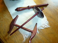 Kromski Niddy Noddy Nostopinne and Drop Spindle Set Mahogany Instructions