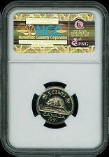 1991 CANADA 5 CENTS NGC MAC SP69 PQ PROOF FINEST GRADED SPOTLESS  *