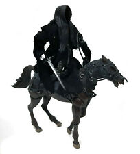 "Tolkien Hobbit Lord of the Rings Movie RINGWRAITH & HORSE 6"" Villain figure set"