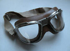 Vintage WW2 US Navy AN-6530 Flight Goggles (Original) with white Strap
