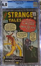 Strange Tales 110 1st Dr Strange!  CGC 6.0 White Pages!