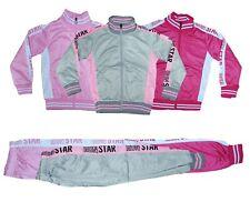 Mädchen Jogginganzug Trainingsanzug Sportanzug Kinder Jacke Hose Kombi