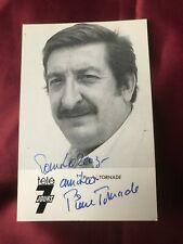 Autogramm PIERRE TORNADE (†2012)-Asterix&Obelix-Frankreich-handsigniert-AK