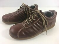 MENS CLARKS BROWN LEATHER LACE UP SMART CASUAL WORK SHOES SIZE UK 7 EU 41