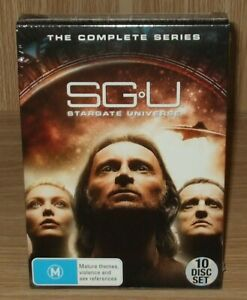Stargate Universe - The Complete Series Dvd 10-Disc Box Set - Brand New & Sealed