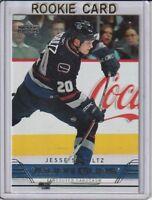 Jesse Schultz 2006-07 Upper Deck Young Guns Rookie Hockey Card #492