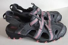 Skechers Sandals Womens Size 6 Pink & Gray Nylon