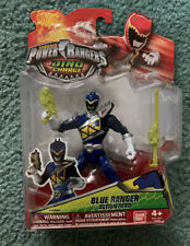 Power Rangers Dino Supercharge Limited Edition Color Blue Ranger Action Hero NEW
