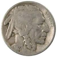 1927 5c Indian Head Buffalo Nickel US Coin G Good