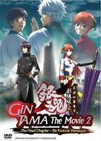 GINTAMA MOVIE 2: THE FINAL CHAPTER - COMPLETE ANIME MOVIE DVD BOX SET