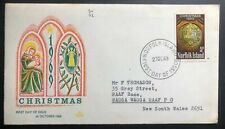 1969 Norfolk Island First Day Cover FDC Christmas Issue To RAAF Base