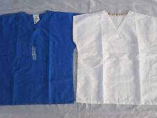 2 pc Landau & Best Medical Reversible Scrub Tops W/ Top Pockets Size Medium #151