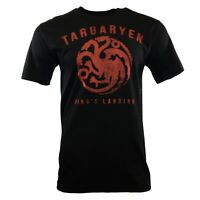 GAME OF THRONES Mens Tee T Shirt S M 2XL House of TARGARYEN Logo Do CLOTHES NEW