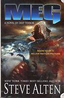 Complete Set Series Lot of 5 Meg books by Steve Alten The Megalodon Movie Novels