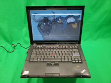 Libreboot Lenovo Thinkpad T400 Core 2 Duo @ 2.26GHz 160GB HDD 4GB RAM Trisquel 8