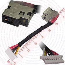 HP Pavilion 17-AB007NO DC Jack Power Port Socket w/ Harness Cable Connector