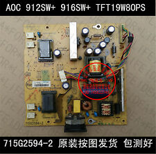 Used Work AOC 912SW+ 916SW+913FW TFT19W80PS 715G2594-2 Power Board #C2VL