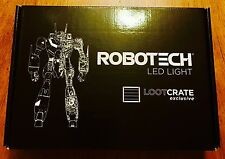 Loot Anime Crate December 2016 - Exclusive Robotech LED Lamp