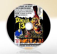 Demetia 13 (1963) DVD Horror Thriller Movie / Film