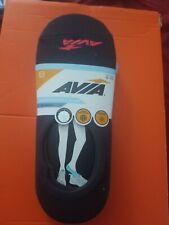 AVIA LADIES Performance Liner NO SHOW Socks 6 PAIRS black Color Size 4-10