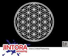 Bassnectar Flower of Life EDM Die Cut Vinyl Decal Bumper Sticker