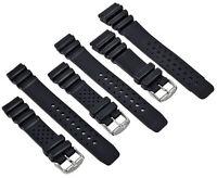 Caucho Pulsera de Reloj XL Negro Apto Citizen Promaster Pulsera Correa Reloj