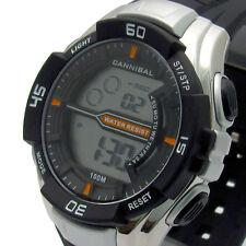 Cannibal Men's Digital Watch Chrono Timer Light Water Resist  CD239-01