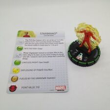 Heroclix Avengers Assemble set Starbrand #041b Prime figure w/card!
