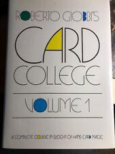 Card College Volume 1, Roberto Giobbi, Isbn: 0-945296-18-5