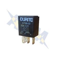Durite Relé de 0-728-23, 24 V. 10A/15A Micro Cambiar Con Relé + resistencia de sellado